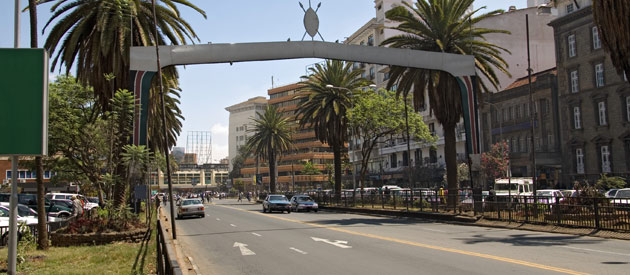 Nairobi is Kenya's capital city and is located in its own region